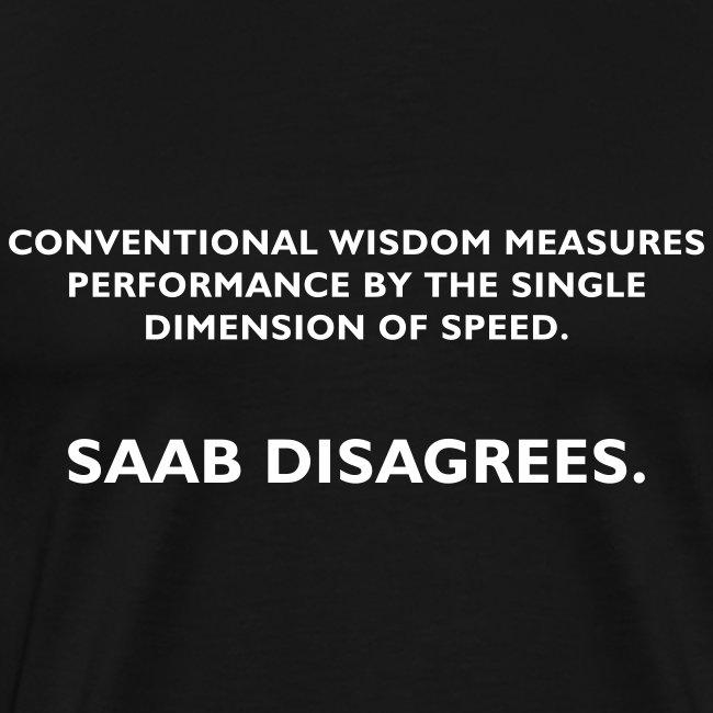 performance by speed vs. Saab