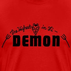 Red Demon Records T-Shirts - Men's Premium T-Shirt