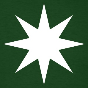 8 Point Star Shirt - Men's T-Shirt