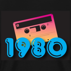 Black 1980 T-Shirts - Men's Premium T-Shirt