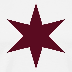 6 Point Star Shirt - Men's Premium T-Shirt