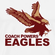 Natural Coach Powers Eastbound Down T-Shirts