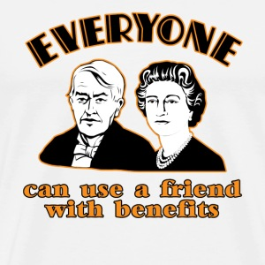 Natural Friends with Benefits  T-Shirts - Men's Premium T-Shirt