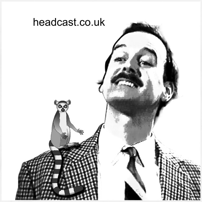 Cleese Lemur on Shoulder (Posh)