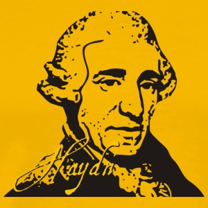 Yellow Haydn T-Shirts - Men's Premium T-Shirt
