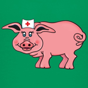 Kelly green Nurse piggy (DDP) Kids' Shirts - Kids' Premium T-Shirt