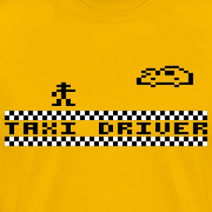 Yellow Taxidriver T-Shirts - Men's Premium T-Shirt