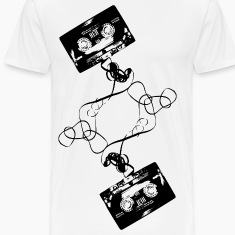 White Cassette Tape T-Shirts