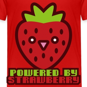 POWERED BY STRAWBERRY - Toddler Premium T-Shirt