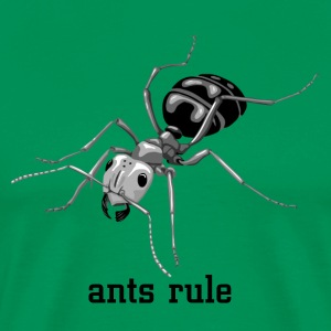 Ants rule! - Men's Premium T-Shirt