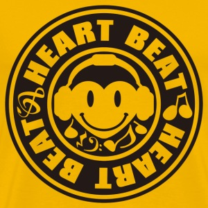 Heart_Beat - Men's Premium T-Shirt
