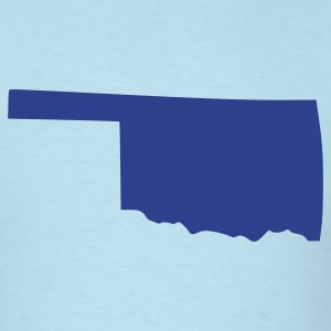 Sky blue Oklahoma T-Shirts - Men's T-Shirt