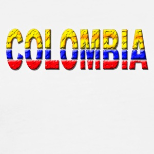 White Colombia T-Shirts - Men's Premium T-Shirt