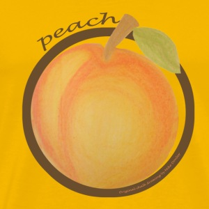 Yellow Peach (chalk) T-Shirts - Men's Premium T-Shirt