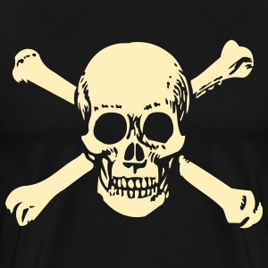Old School Skull - Men's Premium T-Shirt