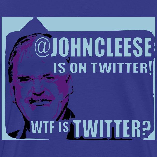 WTF is Twitter? Men's Blue Shirt