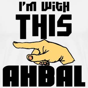 I'm With This Ahbal - Men's Premium T-Shirt