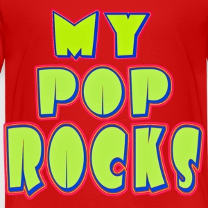 Red MY POP ROCKS Toddler Shirts - Toddler Premium T-Shirt