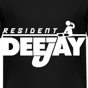 Black Resident DeeJay Toddler Shirts - Toddler Premium T-Shirt