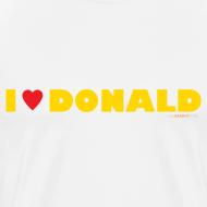 Design ~ Men's Heavyweight - I Love Donald