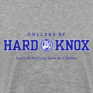 College of Hard Knox - Men's Premium T-Shirt
