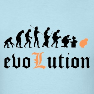 Evolution [black edition] - Men's T-Shirt