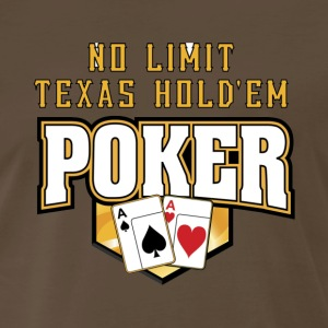 Texas hold em - Men's Premium T-Shirt