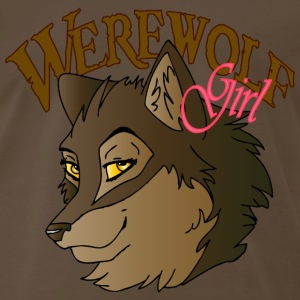 Werewolf Girl - Men's Premium T-Shirt