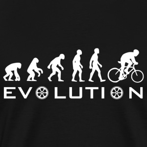 The Original Evolution Of Bike - Men's Premium T-Shirt