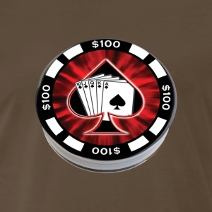 Poker chip - Men's Premium T-Shirt