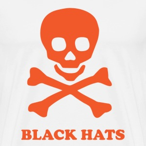 ** Black Hat ** - Men's Premium T-Shirt