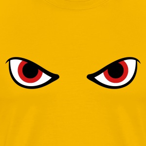 Angry Eyes T Shirt - Men's Premium T-Shirt