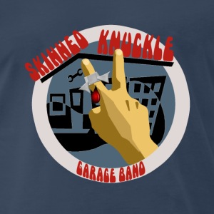 Skinned Knuckle Garage Band Men's Heavyweight T-Shirt - Men's Premium T-Shirt
