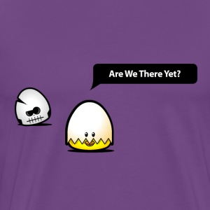 Are we there yet?  - Men's Premium T-Shirt