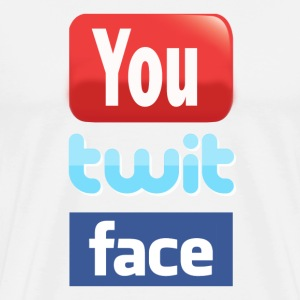 You twit face - Men's Premium T-Shirt