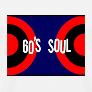 Sixties Soul Retro T Shirt - Men's Premium T-Shirt