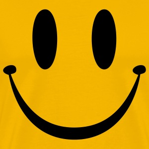 Yellow Smiley Face T-Shirts - Men's Premium T-Shirt