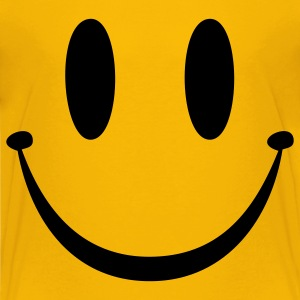Yellow Smiley Face Kids' Shirts - Kids' Premium T-Shirt