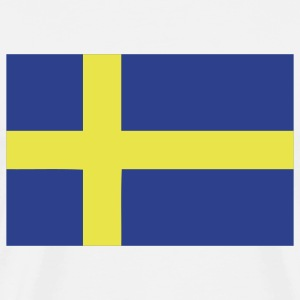 White sweden T-Shirts - Men's Premium T-Shirt