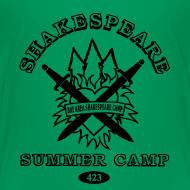 Design ~ Kids' Bay Area Shakespeare Camp Black Logo Basic Tee