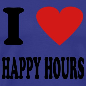 Royal blue happy hour T-Shirts - Men's Premium T-Shirt