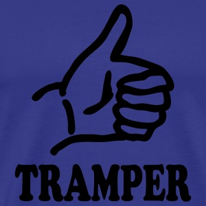 Royal blue tramper T-Shirts - Men's Premium T-Shirt