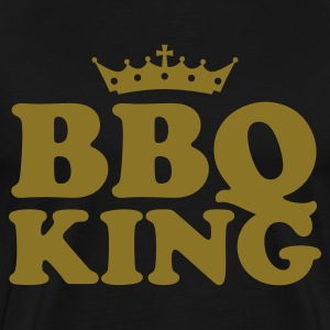 Black bbq barbeque king T-Shirts - Men's Premium T-Shirt