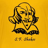 Design ~ Kids' SF Shakes Line Drawing Basic Tee