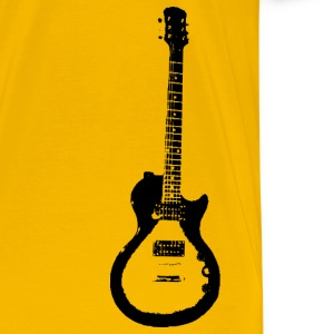 Gold les paul gibson special guitar T-Shirts - Men's Premium T-Shirt