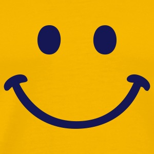 Yellow smile party smiley T-Shirts - Men's Premium T-Shirt