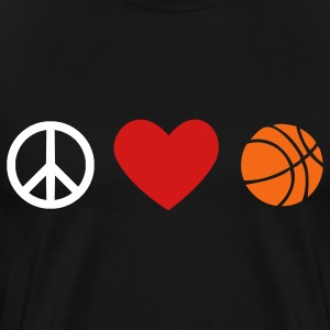 Basketball Men's Heavyweight - Men's Premium T-Shirt