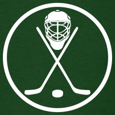 Forest green hockey circle T-Shirts
