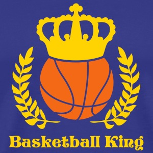 Royal blue baskelball Kings T-Shirts - Men's Premium T-Shirt
