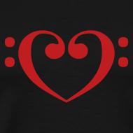 Design ~ Bass Clef Heart